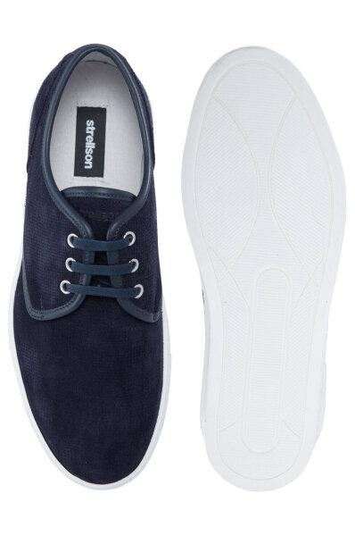 wholesale dealer 99db2 707c0 Evans Derby Lace sneakers Strellson | Navy blue | Gomez.pl/en