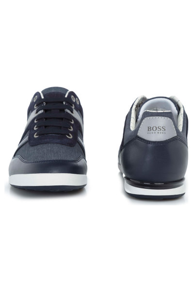f43d0395e1a34 SNEAKERSY ARKANSAS LOWP NYCH Boss Athleisure | Granatowy | Gomez.pl