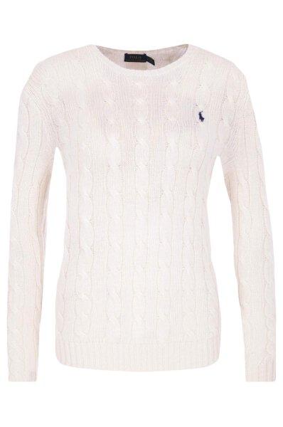 ebc073088 Sweter | Regular Fit Polo Ralph Lauren | Kremowy | Gomez.pl