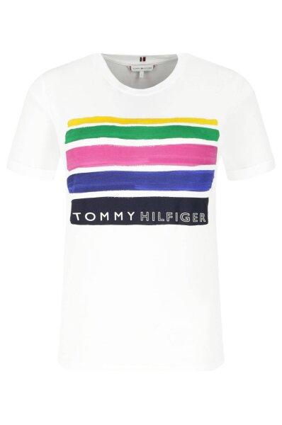 241a2f1d6 T-shirt | Loose fit Tommy Hilfiger | White | Gomez.pl/en
