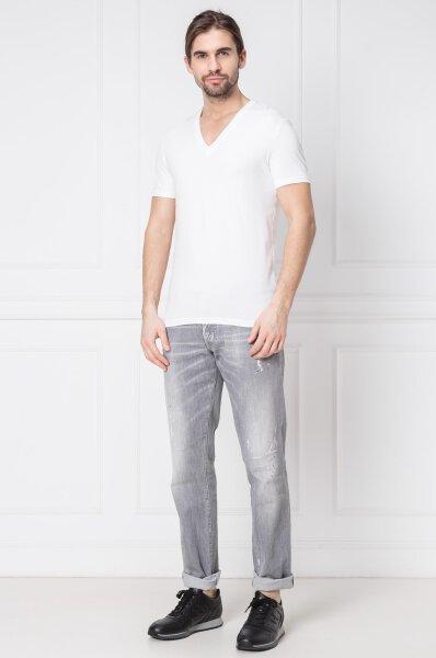 ba9a83fe5 T-shirt | Slim Fit | cotton stretch Dsquared2 | Biały | Gomez.pl