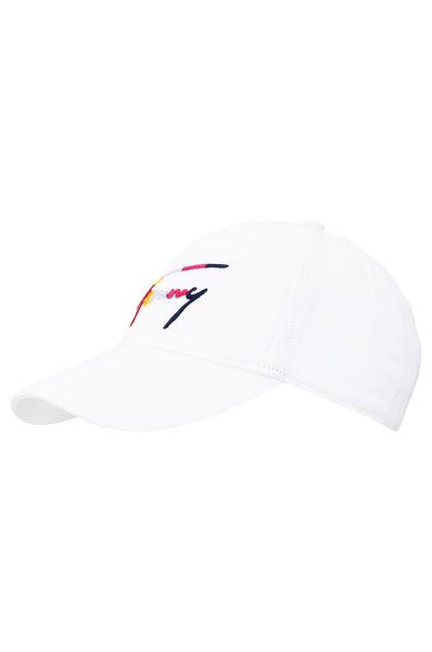 Baseball cap Multicolor signature Tommy Jeans white 1d5159ac23ed