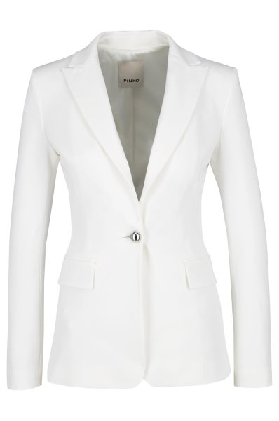 67d48cd711 Jacket SIGNUM 6 | Slim Fit Pinko | White | Gomez.pl/en