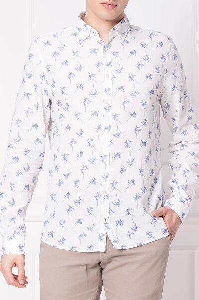 Lniana koszula Heli | Regular Fit Joop! Jeans | Biały | Gomez.pl  nMlov