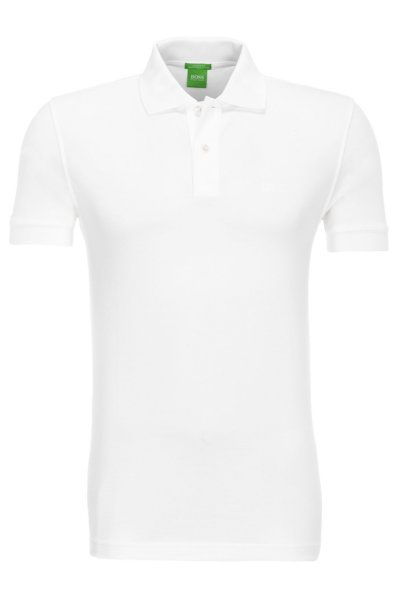 fc762f9e C-Firenze/Logo Polo Boss Athleisure | White | Gomez.pl/en