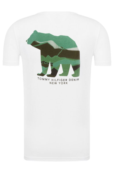 d779097d3 T-shirt Hilfiger Denim | White | Gomez.pl/en