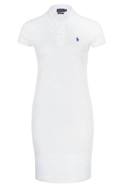 e913d522e Sukienka Polo Ralph Lauren   Biały   Gomez.pl