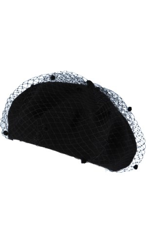 Emporio Armani Wełniany beret