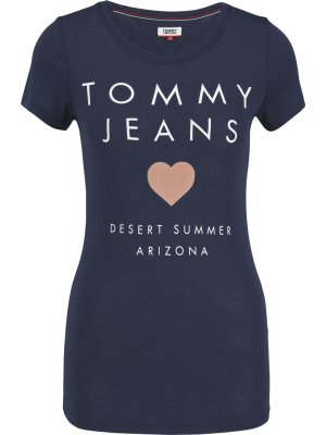 Tommy Jeans T-shirt TJW HEART LOGO | Slim Fit