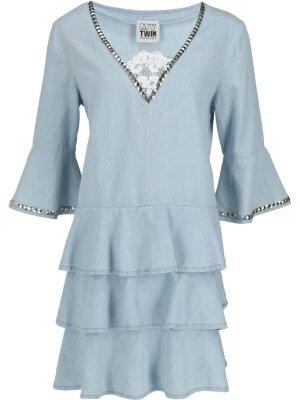 MYTWIN TWINSET Sukienka | denim