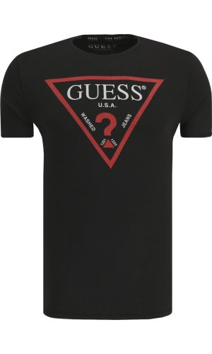 Guess Jeans T-shirt LOGO ORIGINAL | Slim Fit