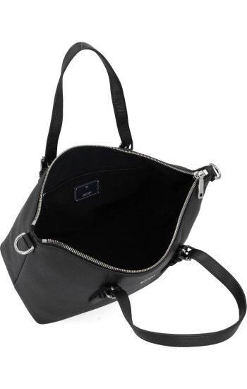 Skórzana listonoszka/torebka na ramię chiara marla Joop! czarny