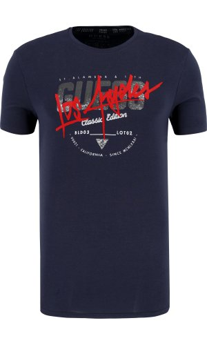 Guess Jeans T-shirt CN SS CLASSIC EDITION TEE | Extra slim fit