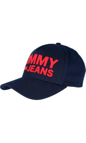 Tommy Jeans Baseball cap FLOCK PRINT
