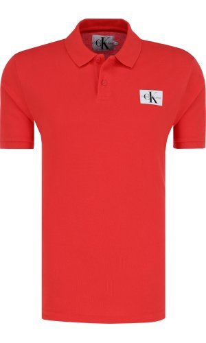Calvin Klein Jeans Polo MONOGRAM LOGO | Regular Fit | pique