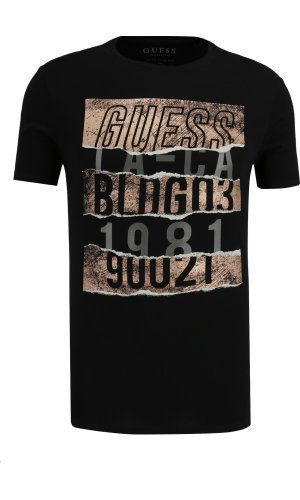 Guess Jeans T-shirt CN SS RIPPED TEE | Extra slim fit