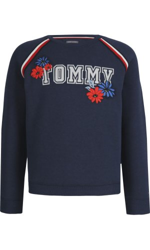 Tommy Hilfiger Bluza Floral | Regular Fit
