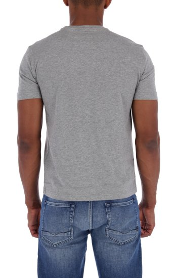 T-shirt | Regular Fit EA7 popielaty