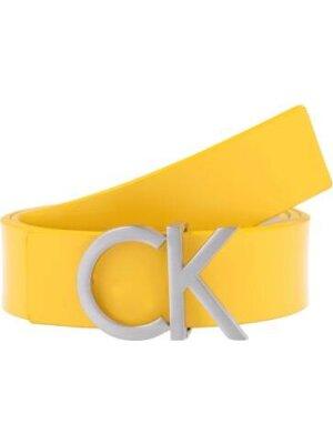 Calvin Klein Skórzany dwustronny pasek