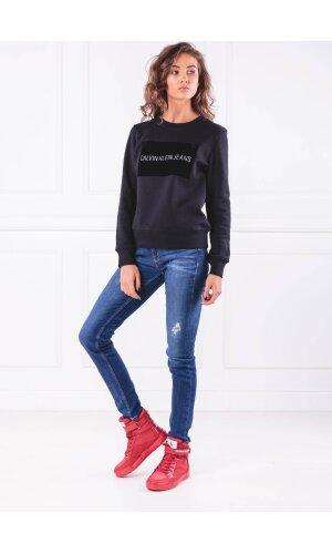 Calvin Klein Jeans Bluza INSTITUTIONAL FLOCK | Regular Fit