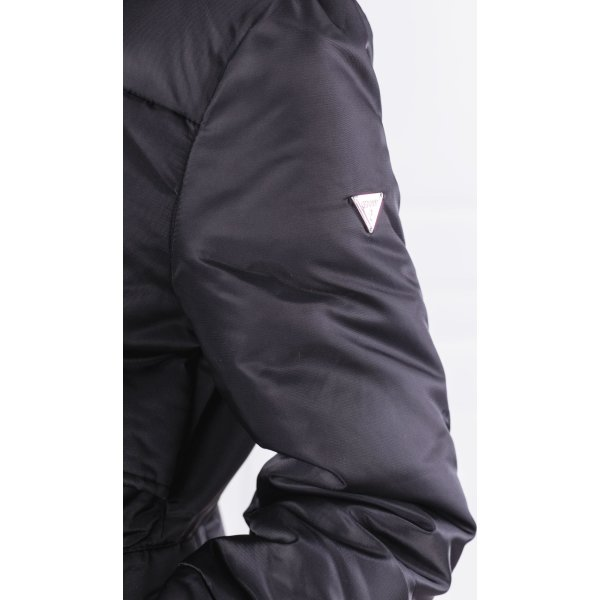 Jacket MARINA PARKA   Regular Fit Guess Jeans   Black   Gomez.pl en d869691dbbb5