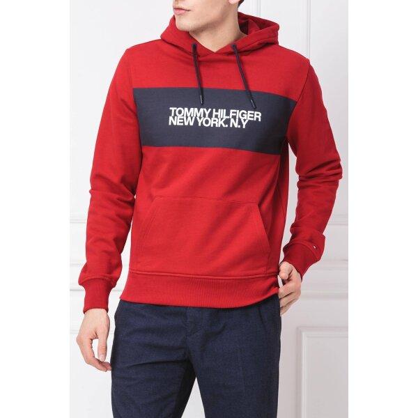bafbe8f03524b Sweatshirt BIG SCALE LOGO   Regular Fit Tommy Hilfiger   Red   Gomez ...