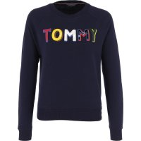 Sweatshirt FRANCESCA | Oversize fit Tommy Hilfiger navy blue