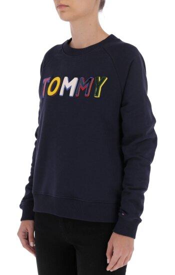 Sweatshirt FRANCESCA   Oversize fit Tommy Hilfiger navy blue