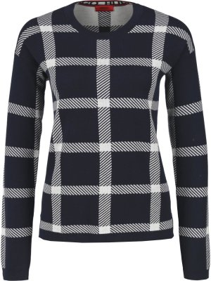 Hugo Sweater Surrey | Relaxed fit | with addition of silk