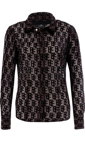 Elisabetta Franchi Shirt | Regular Fit | with addition of silk