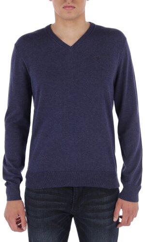 Hackett London Sweter   Regular Fit   z dodatkiem jedwabiu