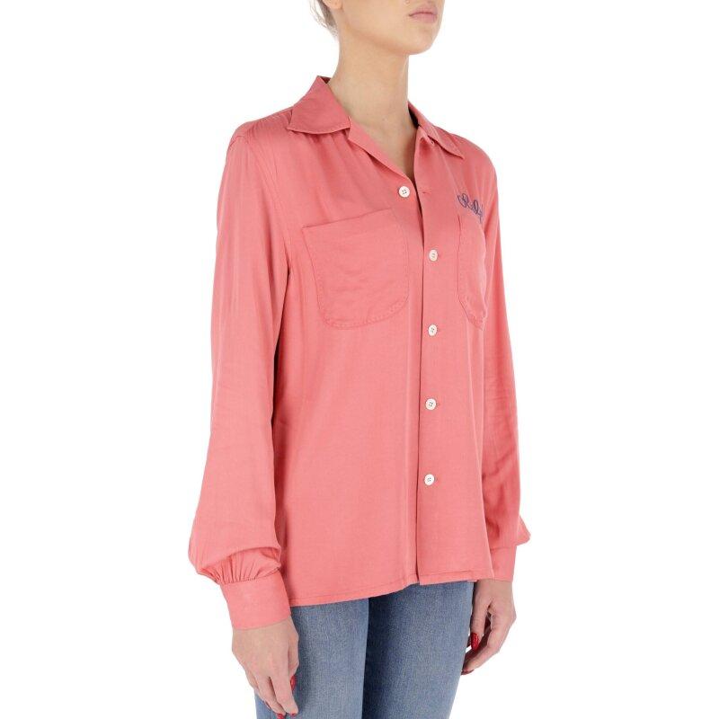 Koszula | Regular Fit Polo Ralph Lauren różowy