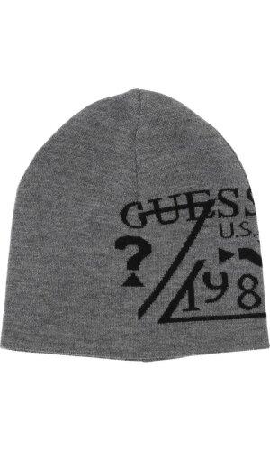 Guess Jeans Dwustronna wełniana czapka