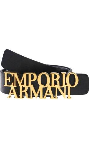 Emporio Armani Skórzany pasek