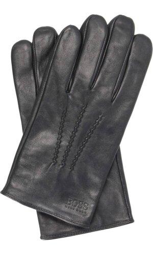 Boss Casual Skórzane rękawiczki Grifin