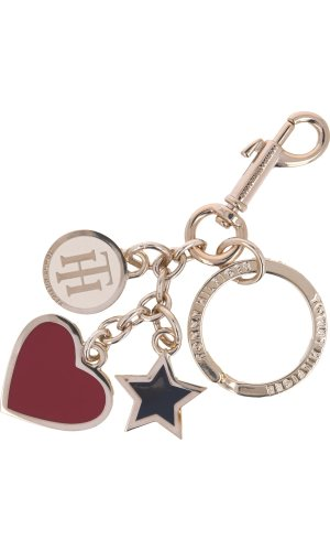 Tommy Hilfiger Brelok HEART AND STAR KEY