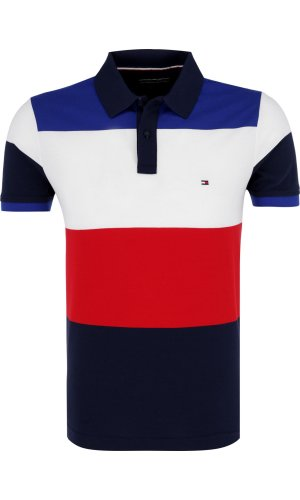 Tommy Hilfiger Polo LEGENDARY ENGINEERED | Slim Fit | pique