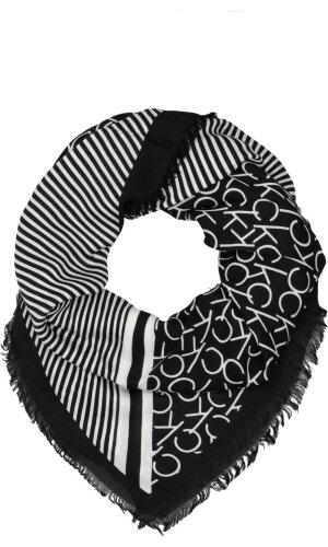 Calvin Klein Chusta PRINTED CK SCARF