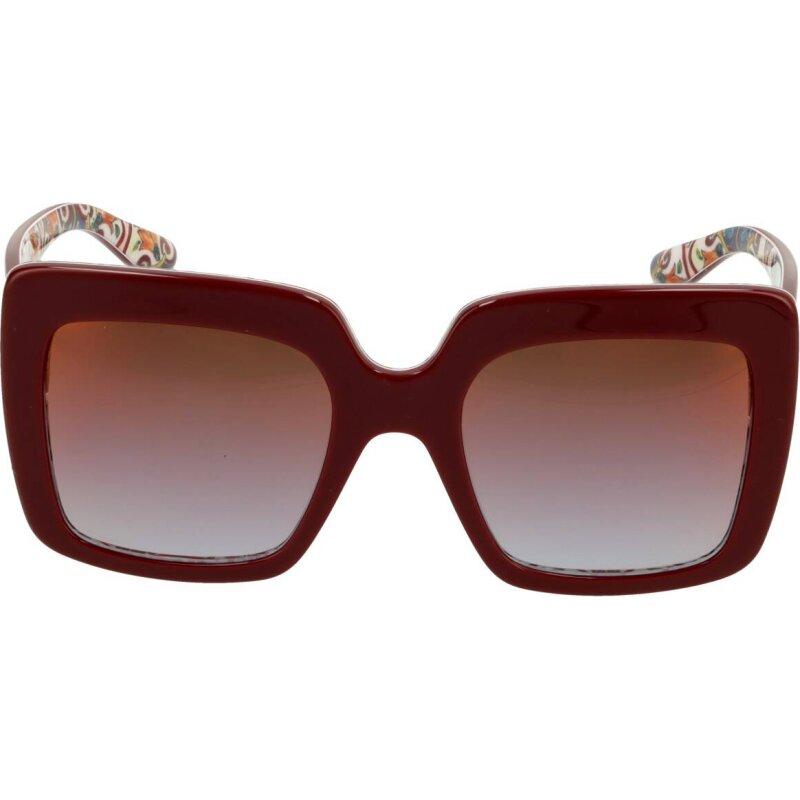 Okulary przeciwsłoneczne Dolce & Gabbana bordowy