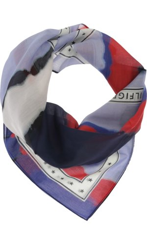 Tommy Hilfiger Scarf TOMMY SELVAGE | with addition of silk