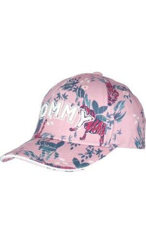 Tommy Hilfiger Bejsbolówka GIRLS FLOWER PRINT CAP