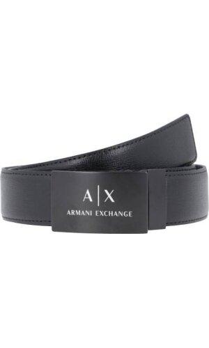 Armani Exchange Skórzany pasek
