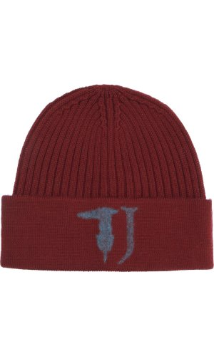 Trussardi Jeans Cap | with addition of wool