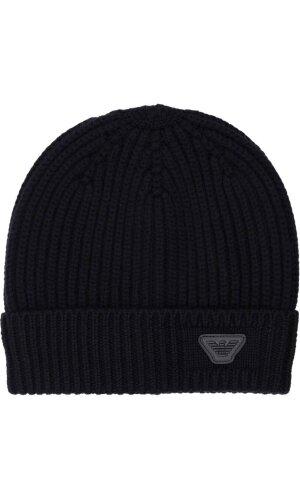 Emporio Armani Wełniana czapka