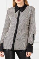 Jedwabna koszula   Loose fit Elisabetta Franchi czarny