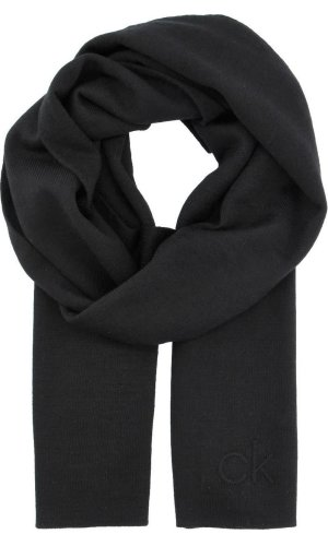Calvin Klein Scarf EMBOSSED   with addition of wool