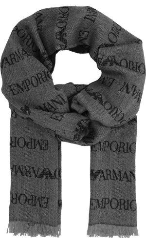 Emporio Armani Szal | z dodatkiem wełny