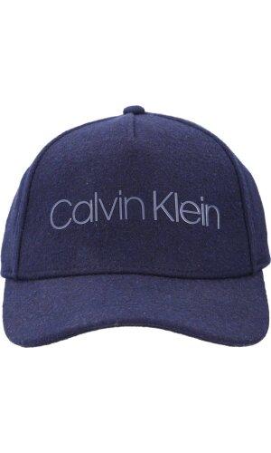 Calvin Klein Wełniana bejsbolówka MELTON