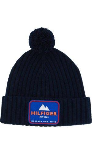 Tommy Hilfiger Wełniana czapka BADGE