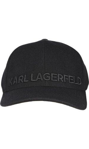 Karl Lagerfeld Wełniana Bejsbolówka